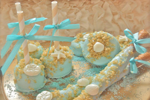 Beach Wedding Favors & Sweets