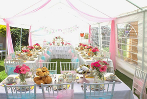 Bridal Luncheons, Showers & Teas