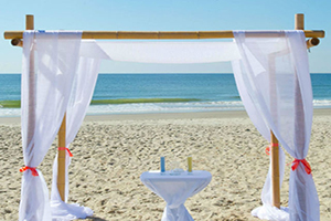 Beach Wedding Ceremony Sites